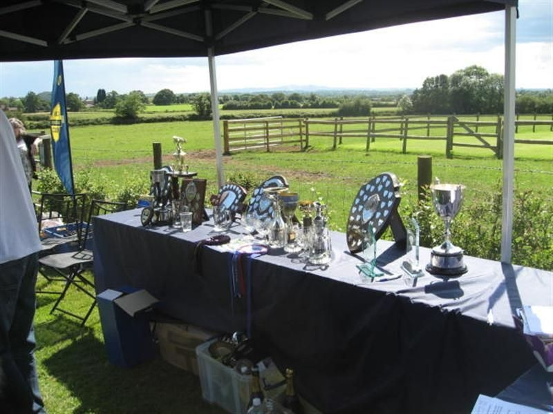 Trophies sponsored by Cherished Vehicle Insurance